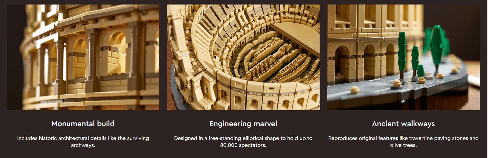 LEGO Colisée ste web