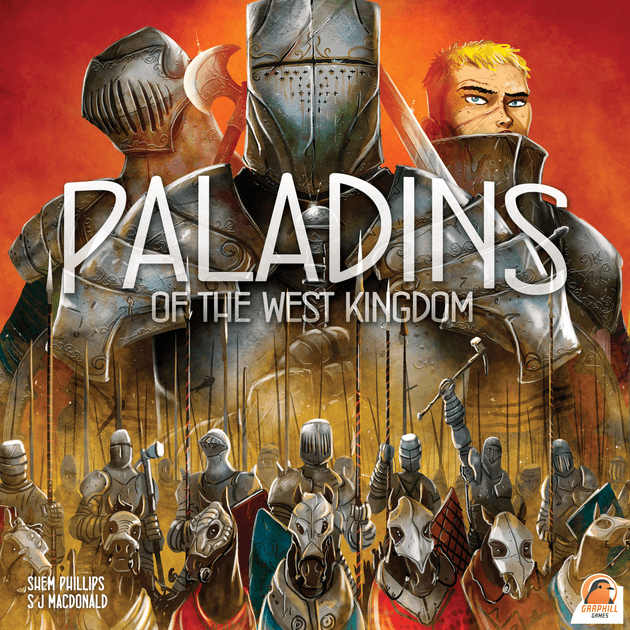 Boîte Paladins of eth West Kingdom