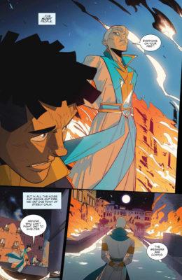 Une page de Seven Secrets #4