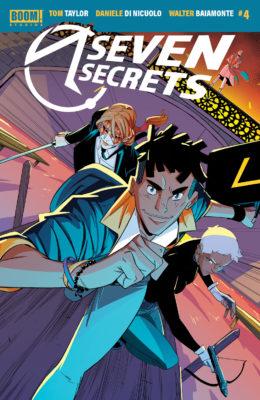 Couverture régulière de Seven Secrets #4