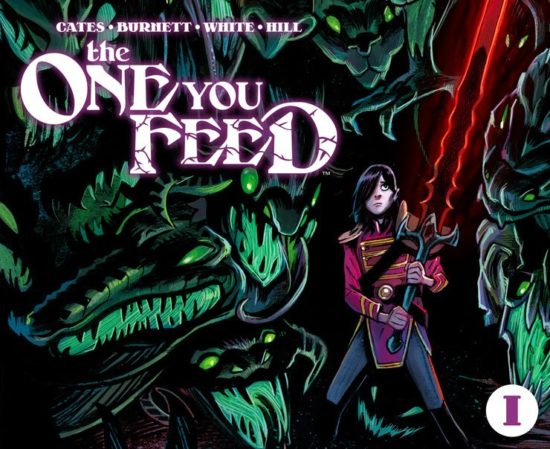 The one you feed - couverture