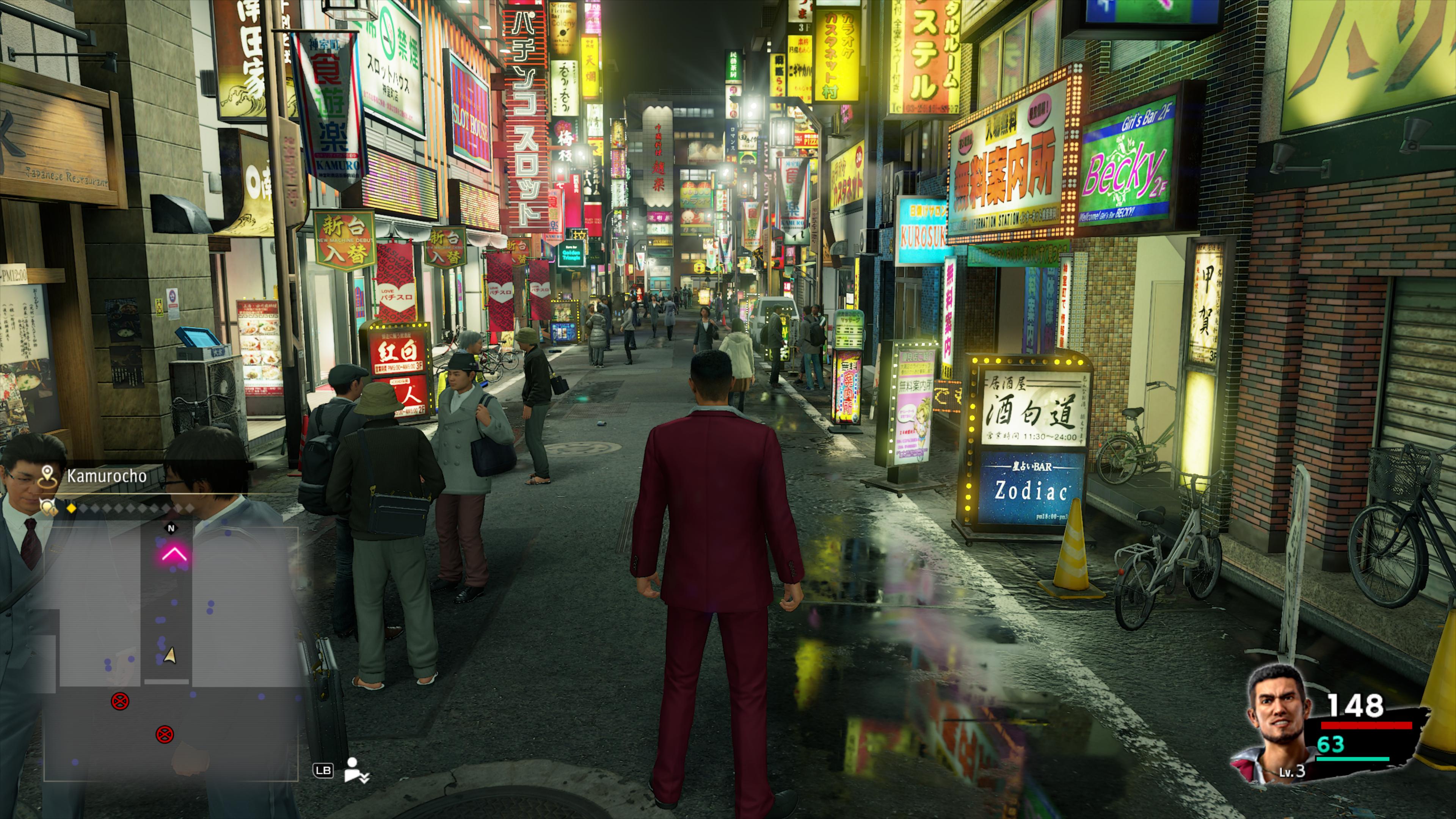 Admirez la vie nocturne de Yokohama en résolution 4K sur la console Xbox Series X