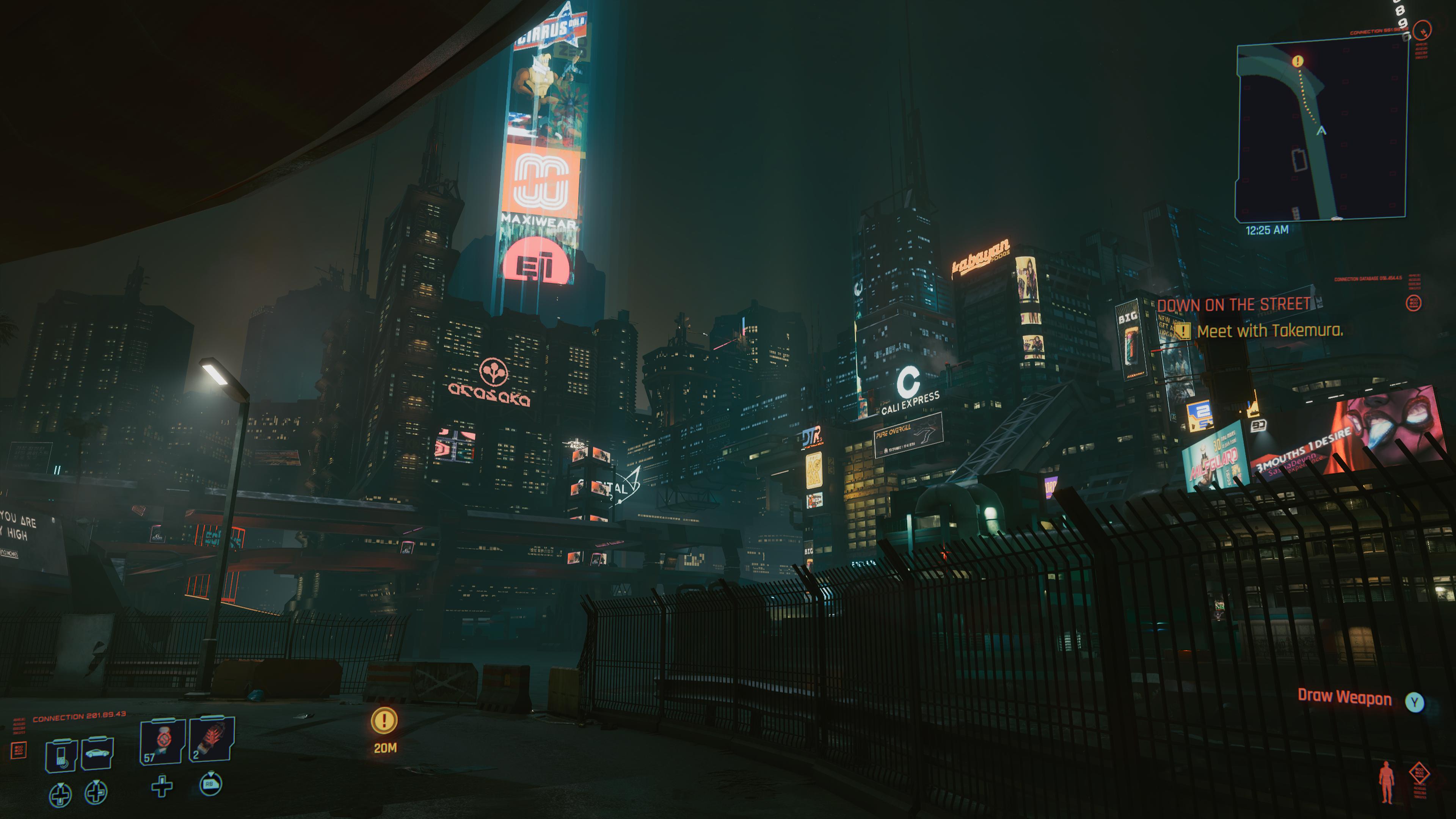 Le monde de Night City est vaste et regorge d'activités à accomplir