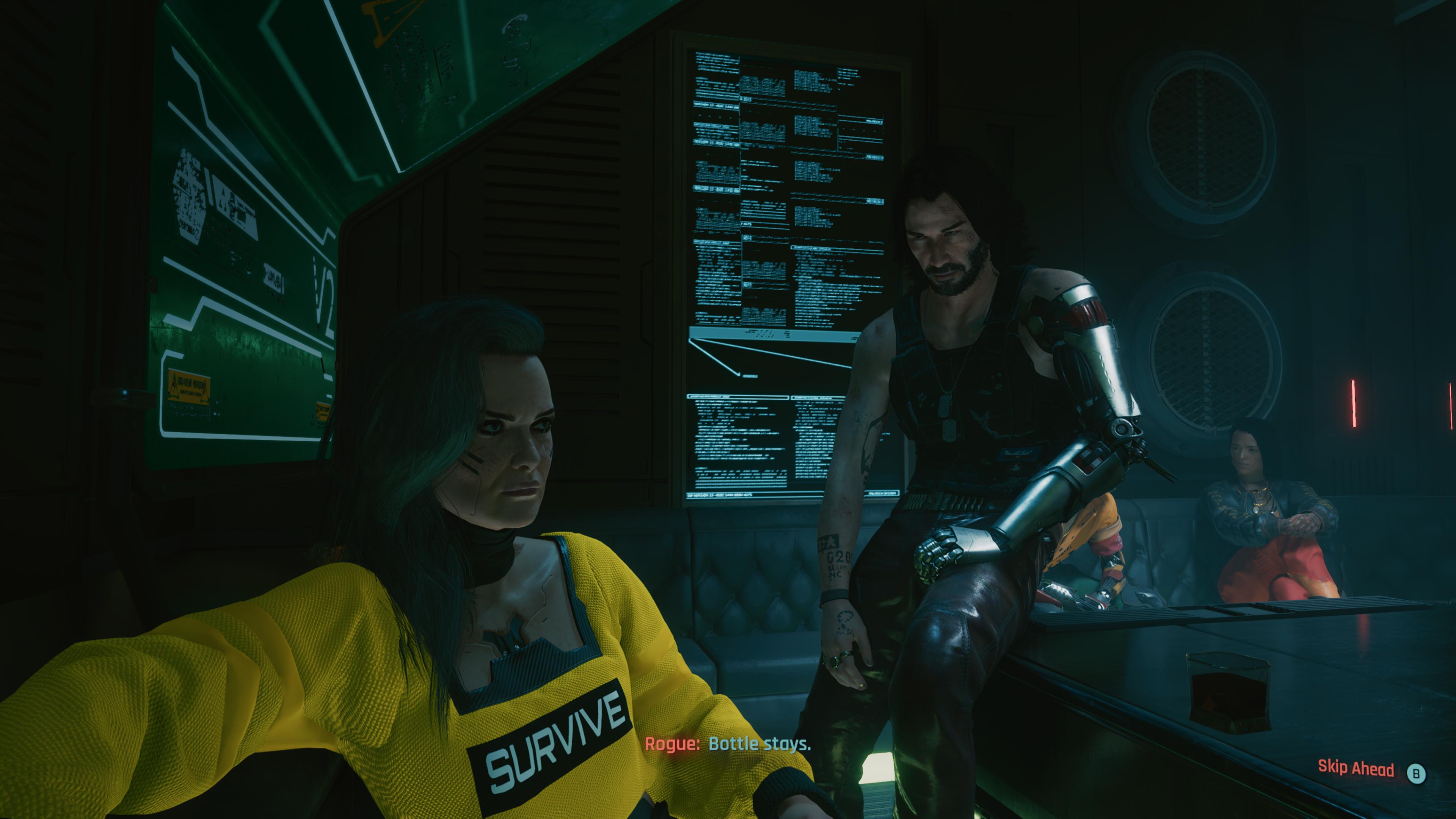 Forger des alliances et accorder sa confiance seront deux activités que le joueur fera régulièrement dans Cyberpunk 2077