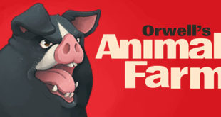 Orwell's Animal Farm header