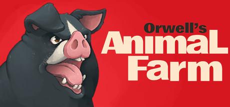 Orwell's Animal Farm header
