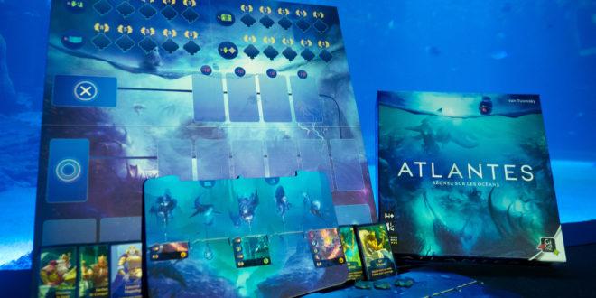Atlantes, un original mélange de mécaniques dans un jeu de société