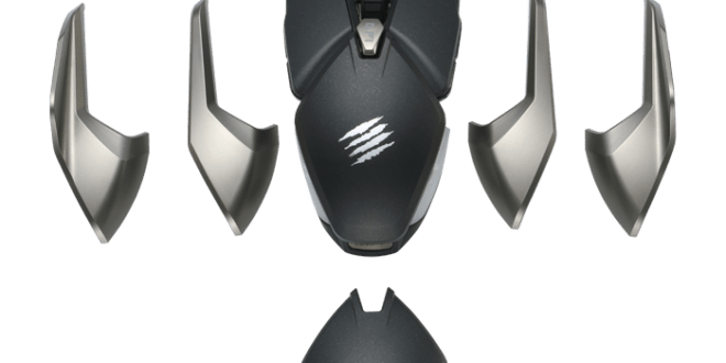 [CES 2021] Mad Catz B.A.T. 6+, la souris batmobile
