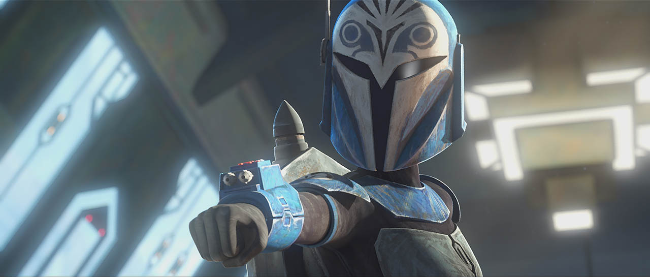 Bo-katan et Clone Wars