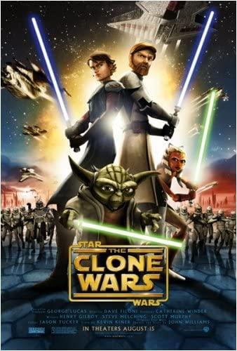 Affiche de Clone Wars