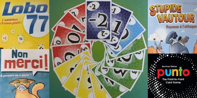 Nos découvertes en famille: jeux de cartes simples, rapides et efficaces