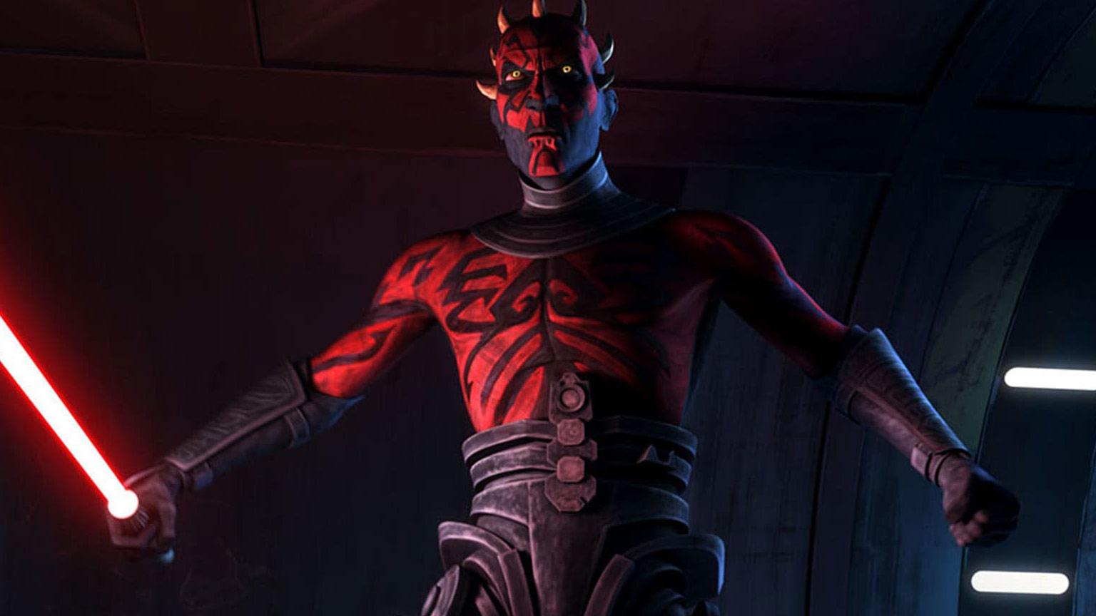 Maul dans Clone Wars