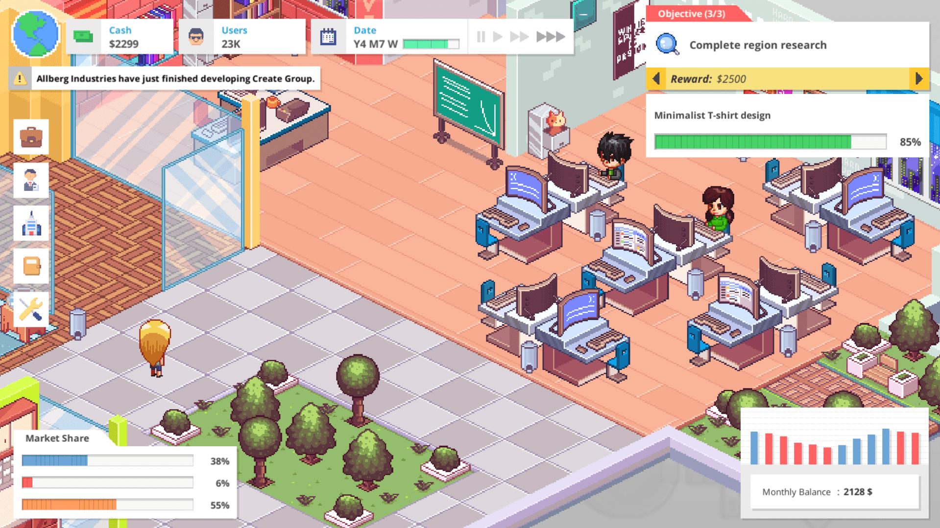 Vous pouvez agrandir vos bureaux et engager plus d'employés!