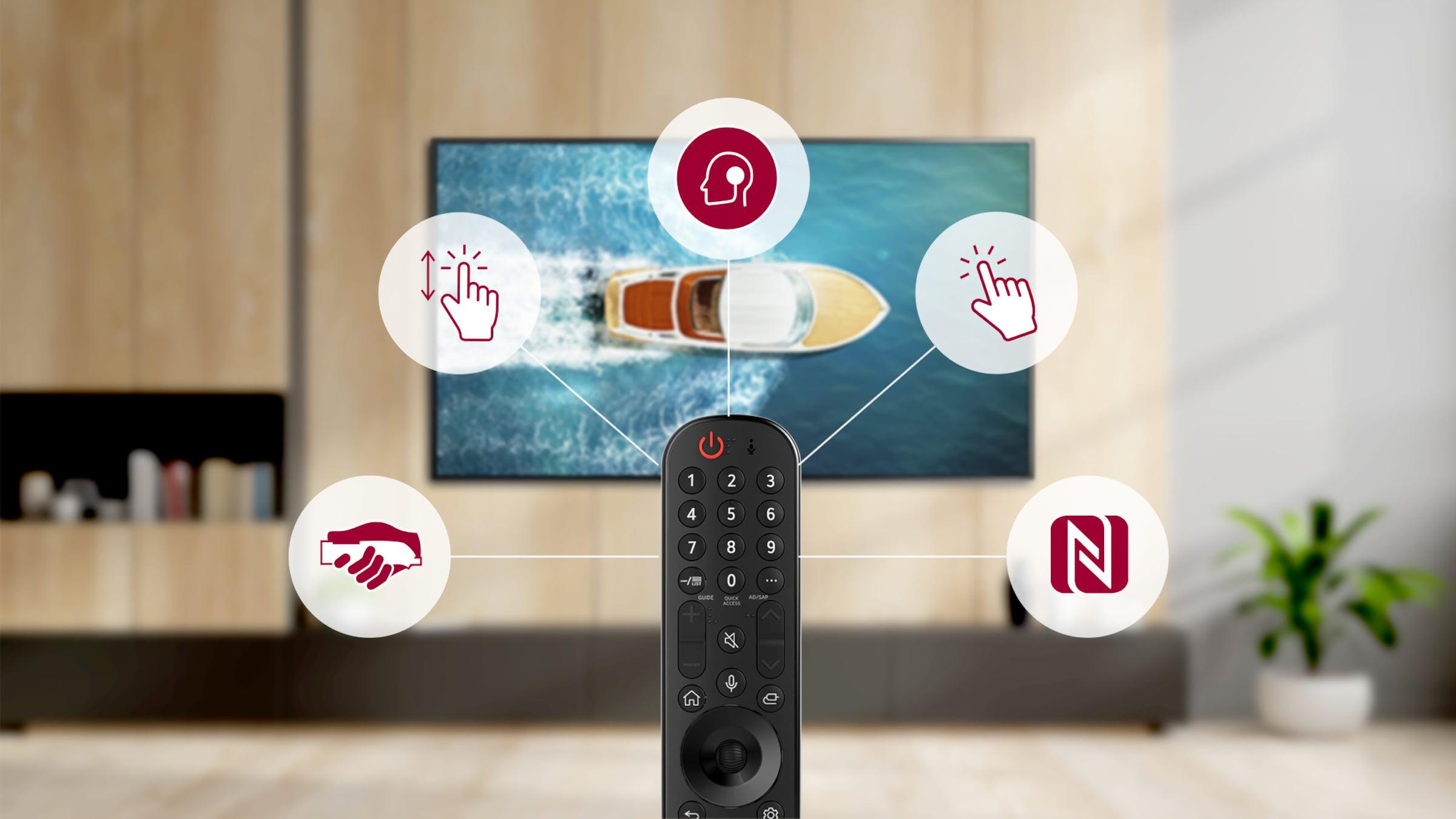 WebOS6.0 met le plein contrôle de l'écran entre les mains de l'utilisateur avec la nouvelle télécommande Magic