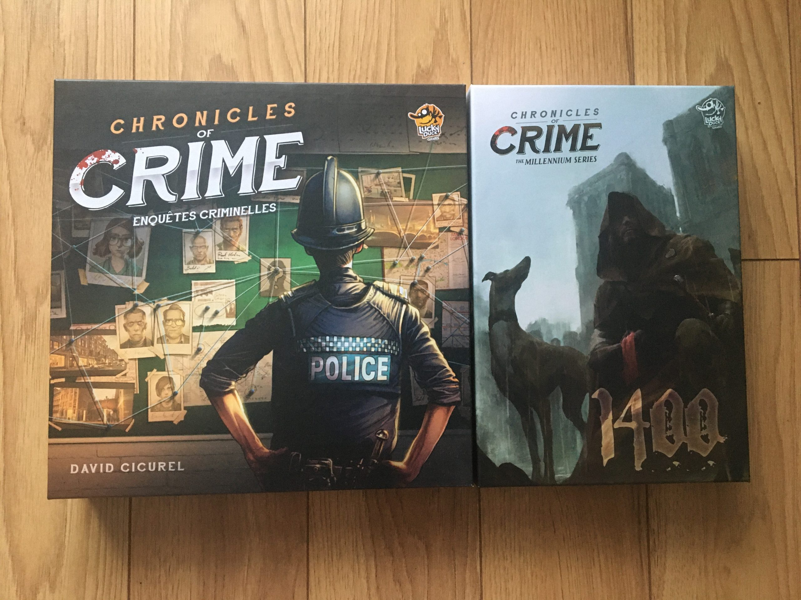Chronicles of Crime comparatif