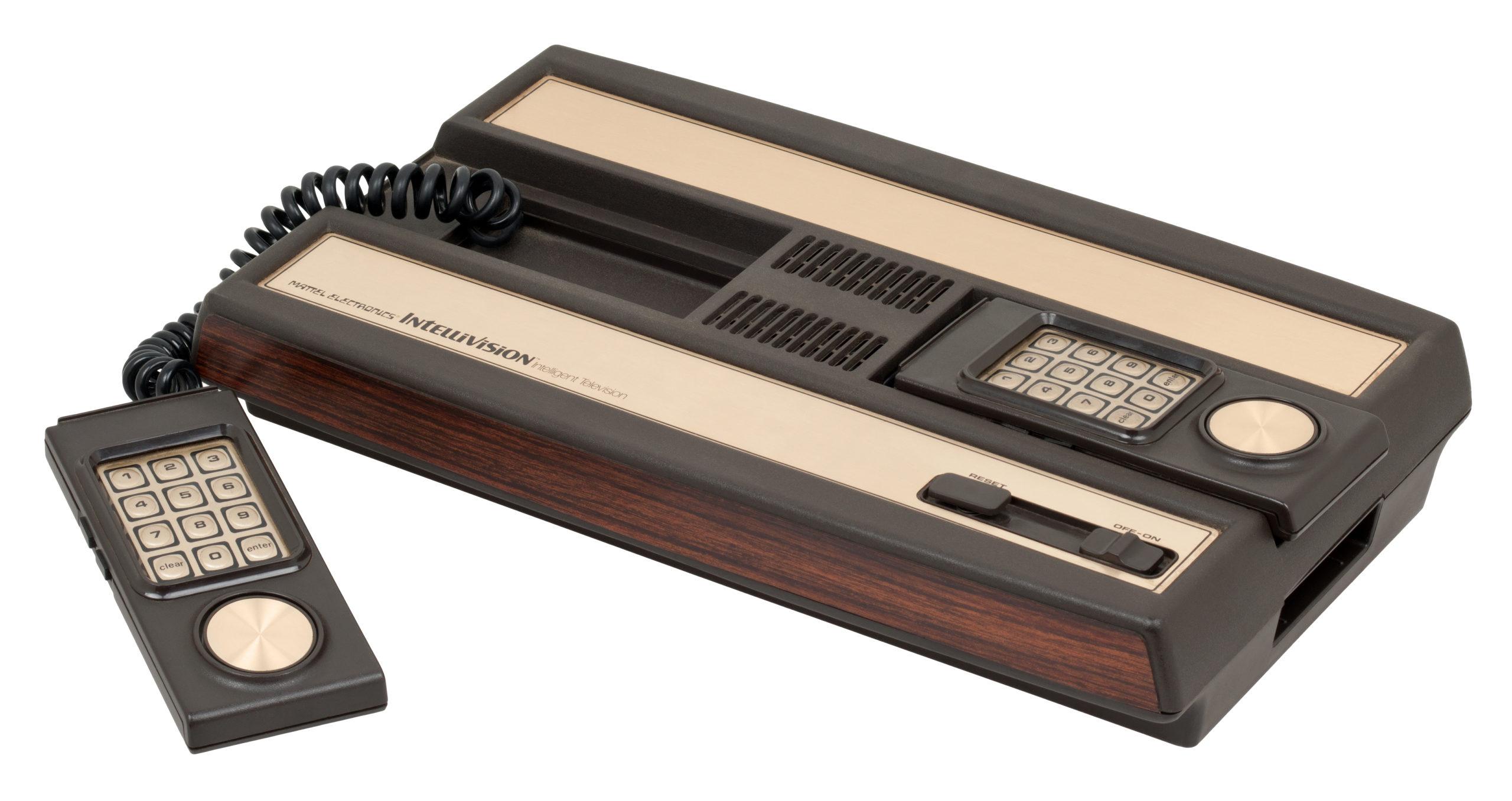 Sortie en 1980, la console Intellivision trône en tête de liste des consoles les plus dispendieuses après ajustement