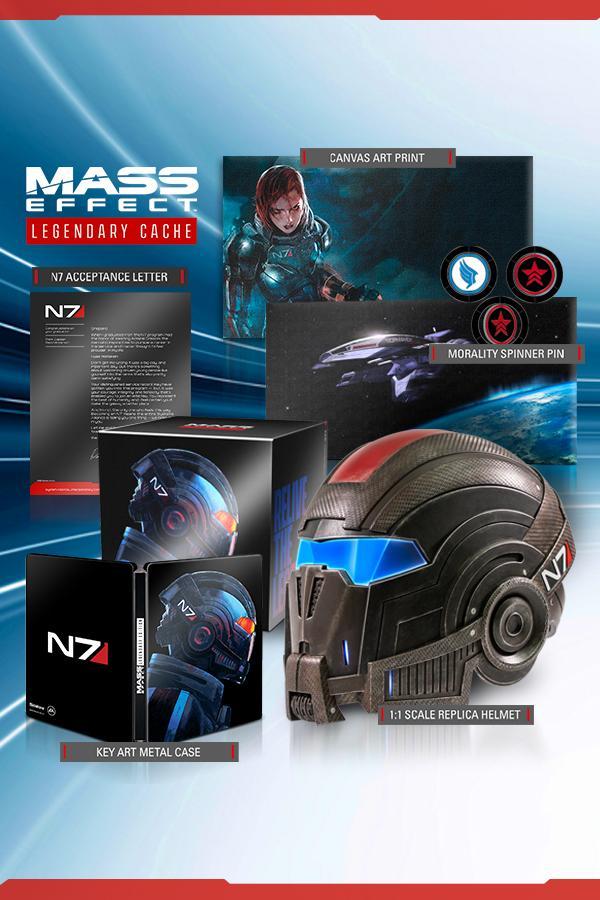 Réveillez le Commandant Shepard en vous avec l'ensemble Mass Effect Legendary Cache!