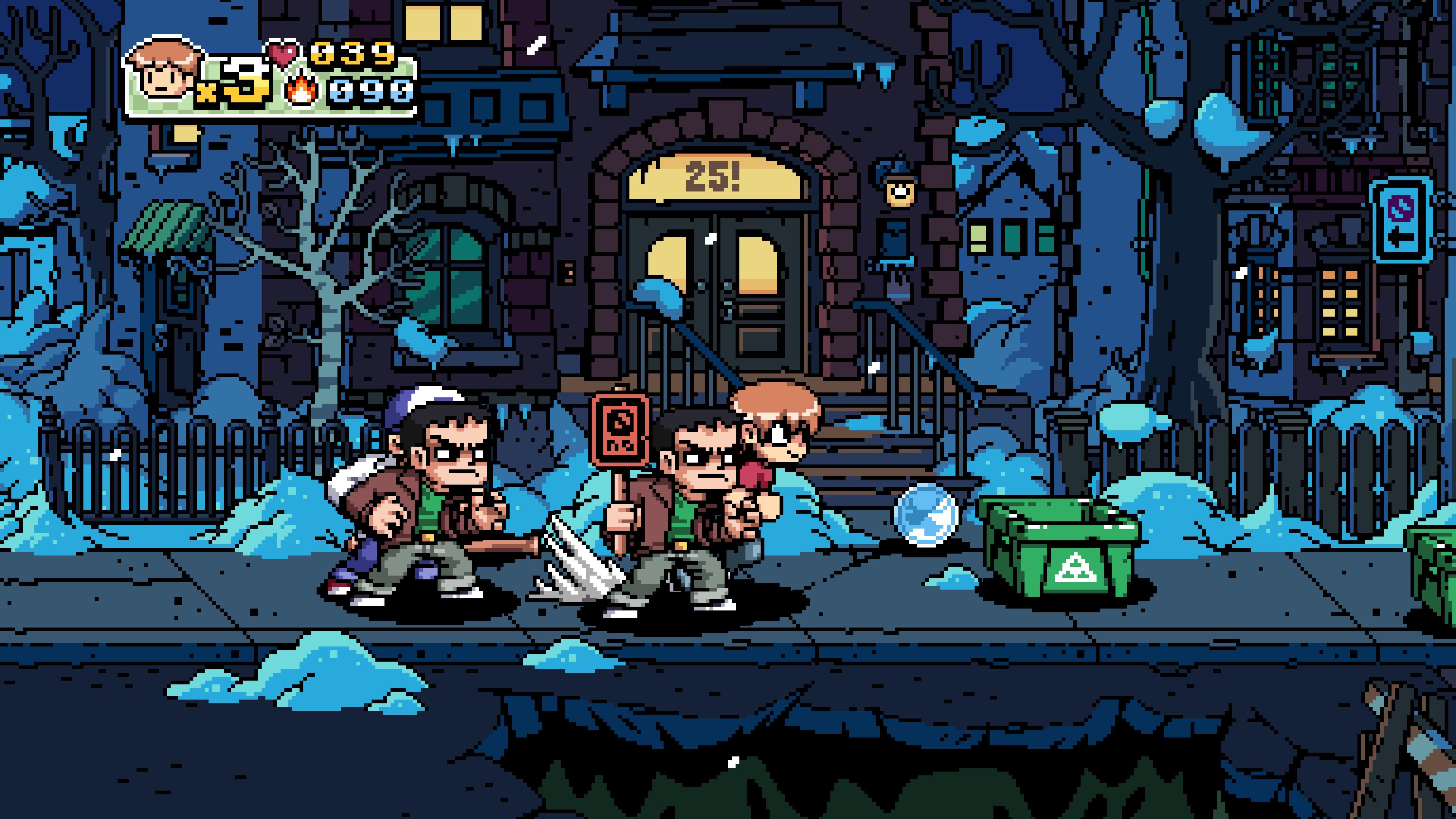 Le jeu est fortement inspiré des classiques du jeu de combat, en particulier River City Ransom