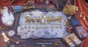 Écran d'ouverture de Sea of Thieves