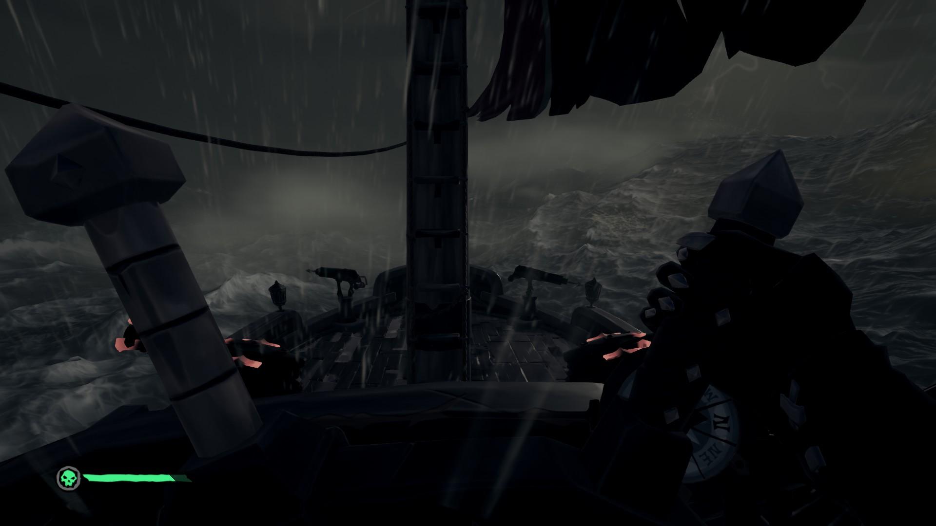 L'environnement du jeu est parfois un ennemi redoutable pour les marins d'eau douce!
