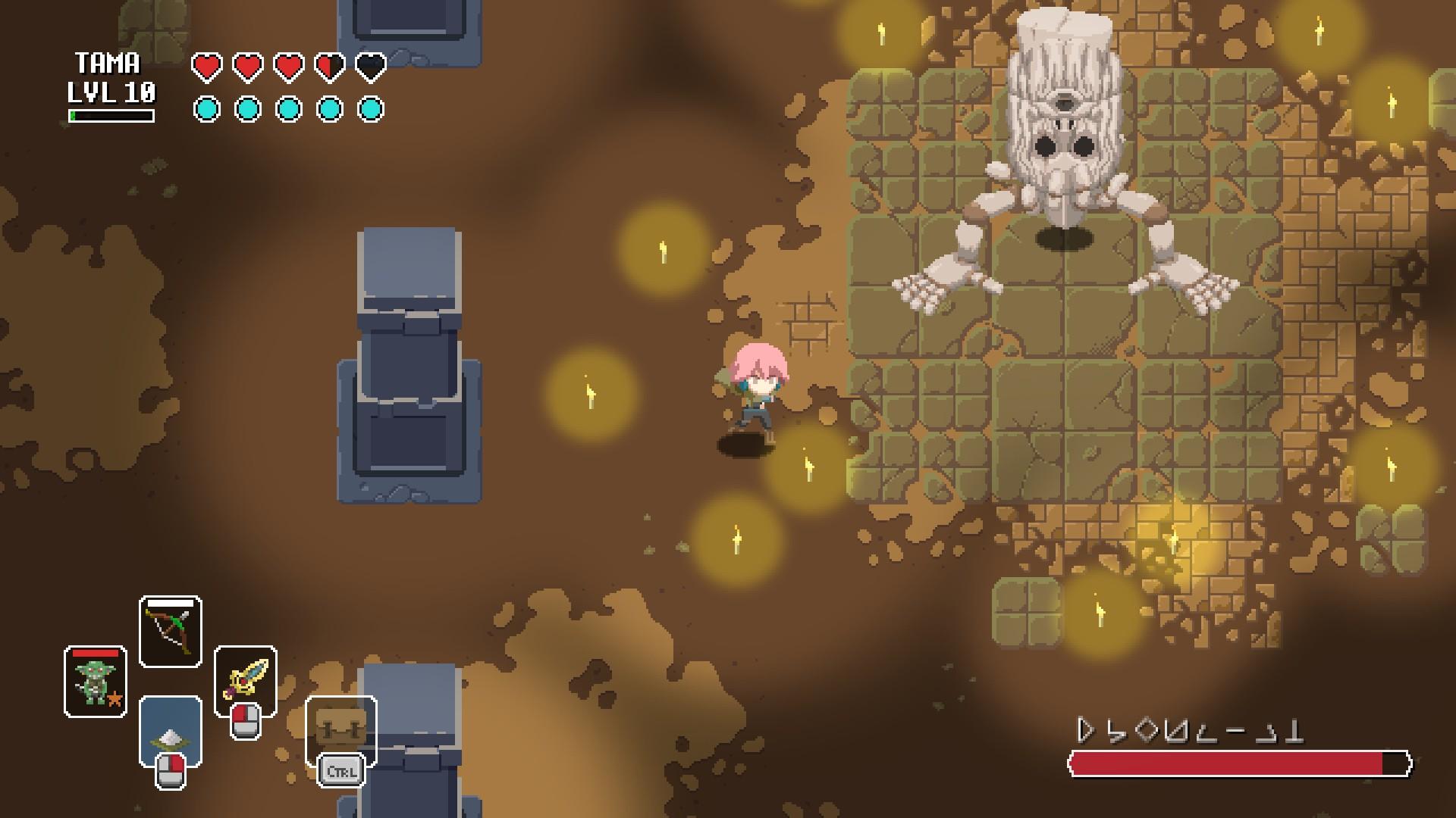Les combats finaux de chaque étage du donjon peuvent être ardus.
