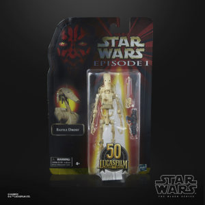 Figurine boite Hasbro droide