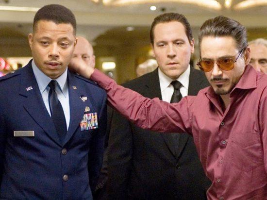 Terrence Howard dans Iron Man