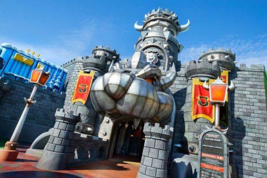 Château Bowser super Nintendo World
