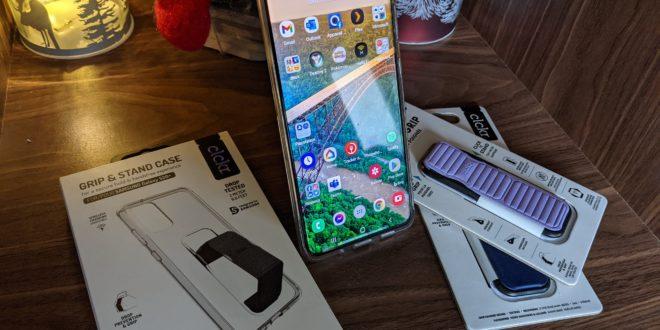 Les étuis à téléphones intelligents CLCKR à la rescousse