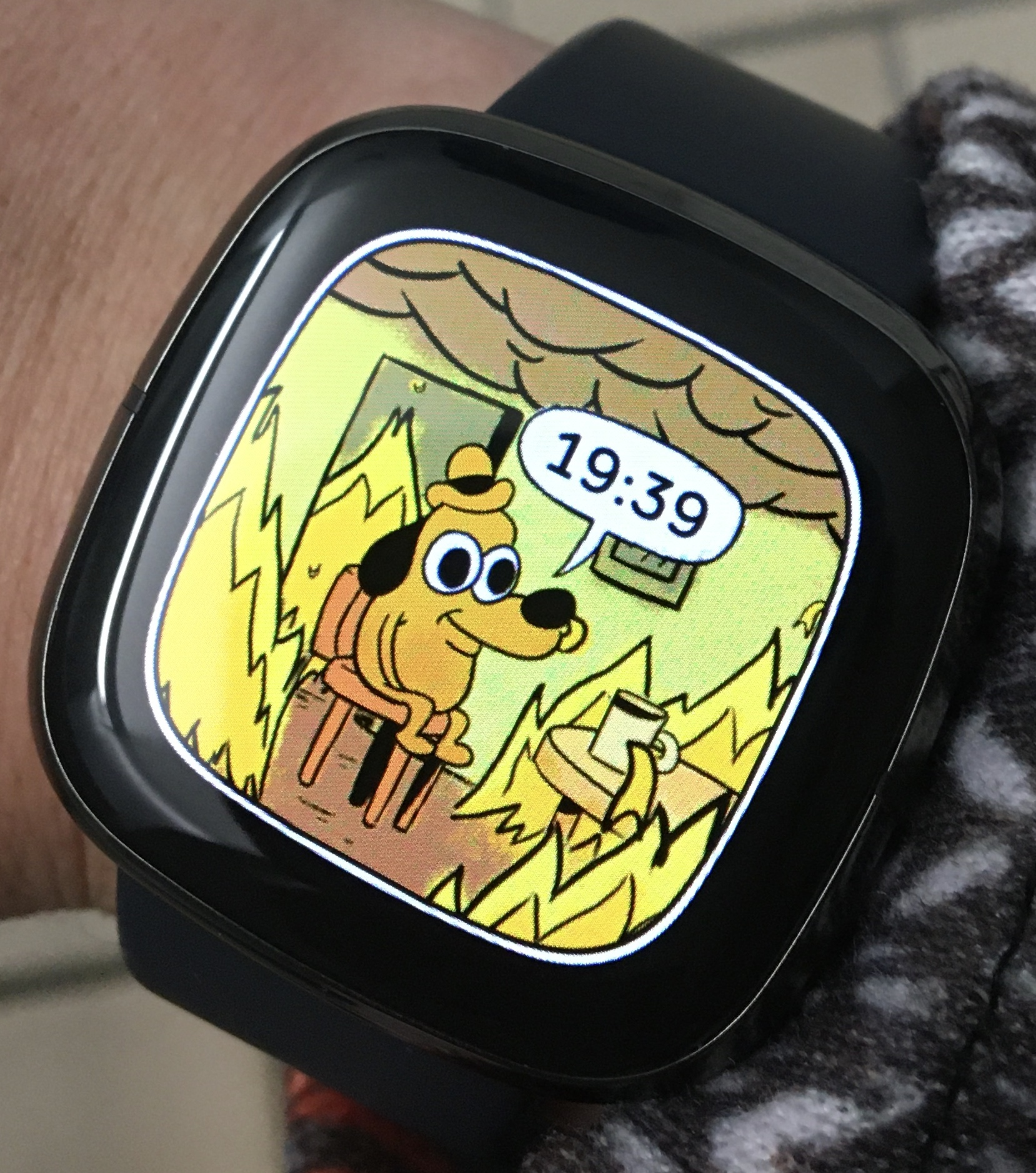 Fitbit Sense horloge