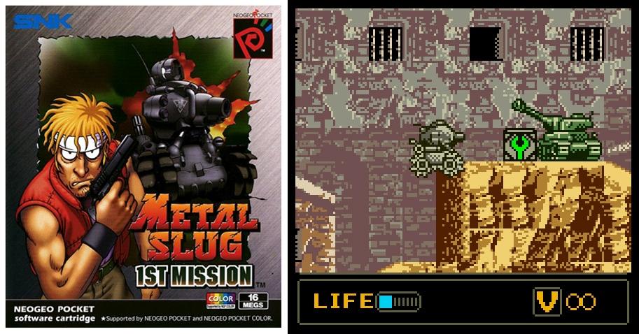 Les deux titres de la franchise Metal Slug offrent le choix entre des graphiques pauvres et une fluidité constante ou le contraire