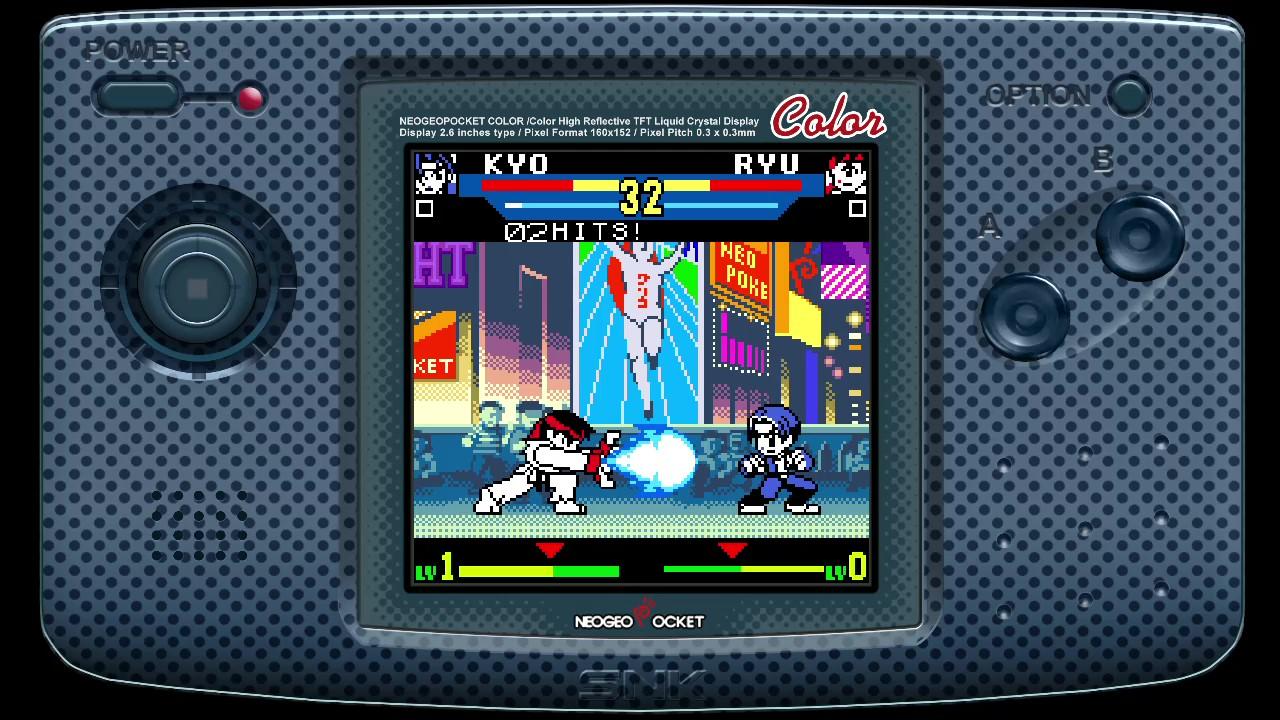 La collection contient six jeux de combat un contre un. Une belle sélection, mais on aurait apprécié plus de variété