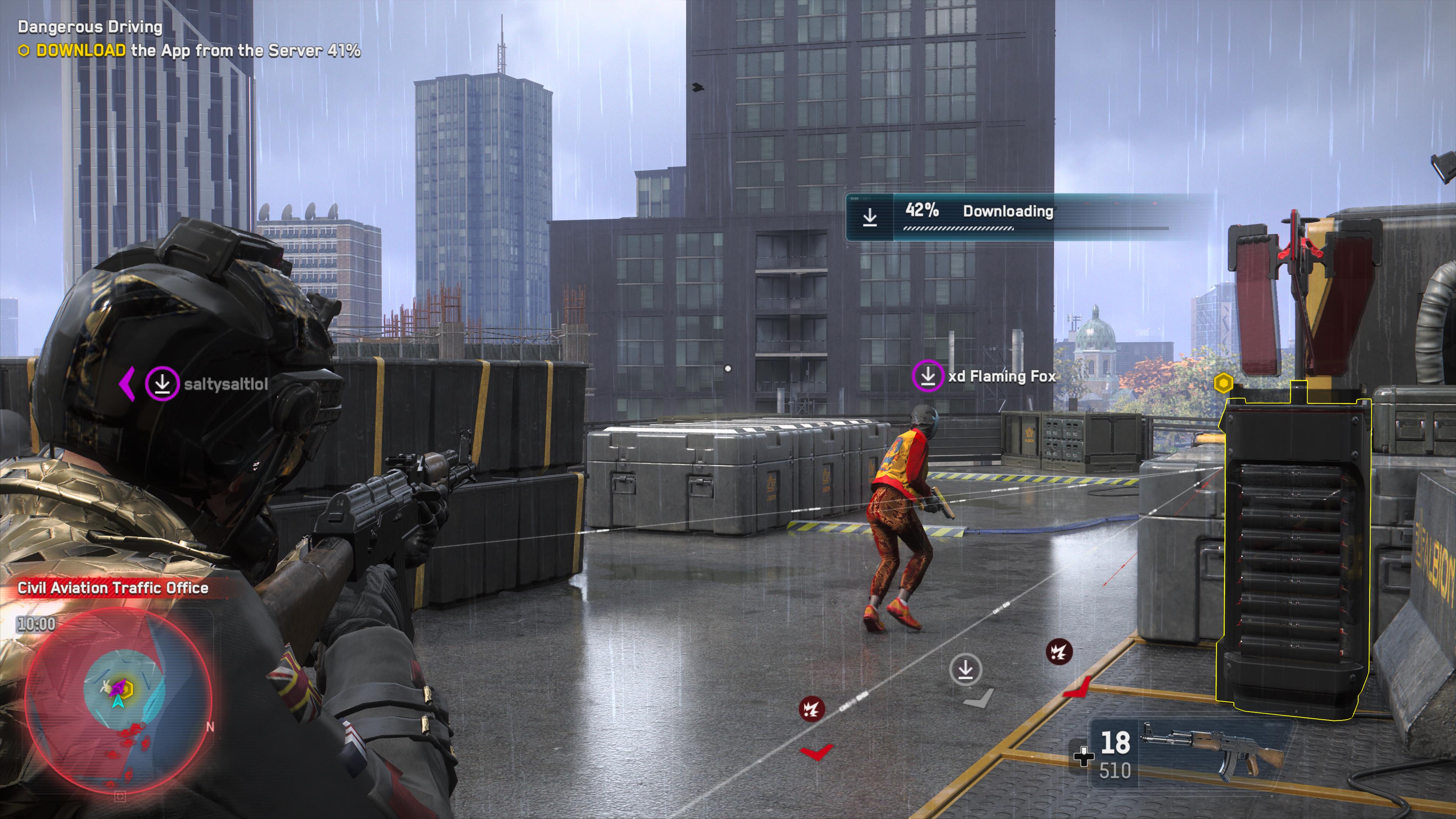 Le travail d'équipe est essentiel pour venir à bout des missions en coop dans le mode multijoueur de Watch Dogs Legion