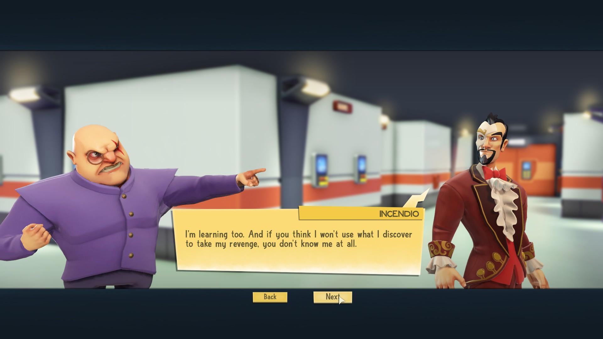 Incendio est l'un des personnages que vous pouvez rencontrer durant votre campagne.
