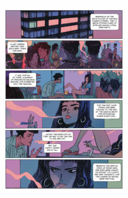Page de The Many Deaths of Laila Starr avec Laila