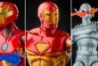 Une nouvelle série de figurines Marvel Legends centrée sur Iron Man