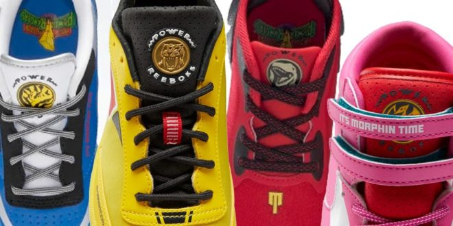Power Rangers Reebok