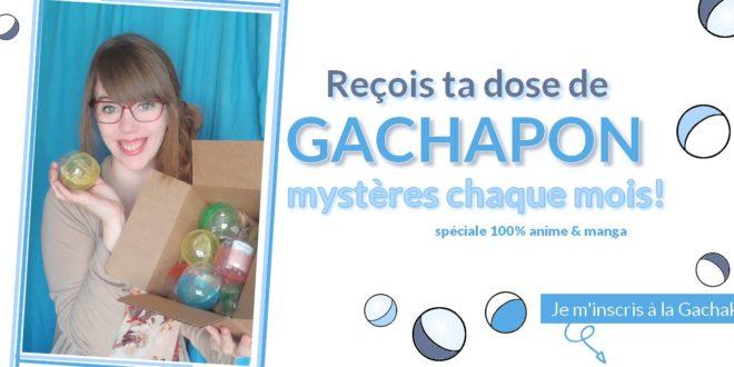 Gachakyu-B: l'abonnement mensuel de la boutique Anipassion-J