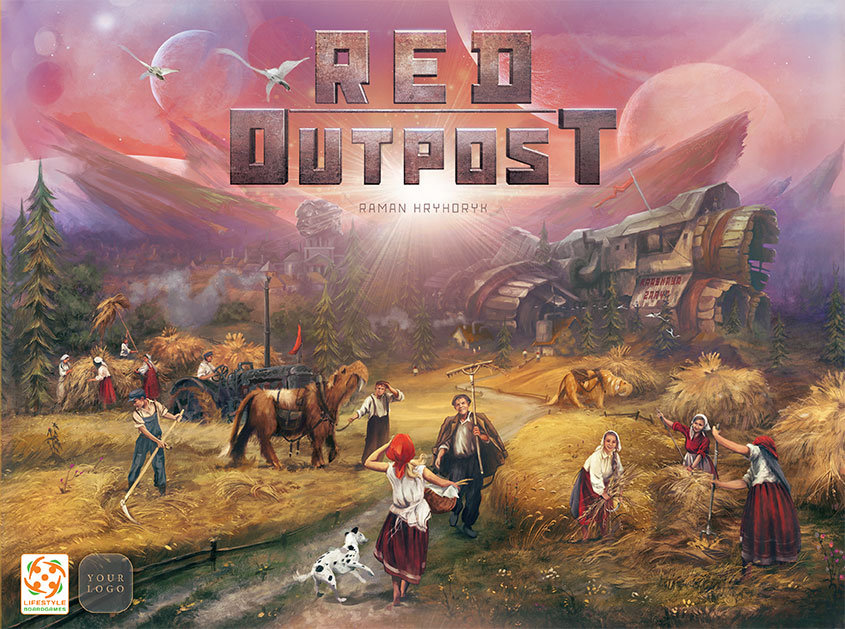 Red Outpost boite