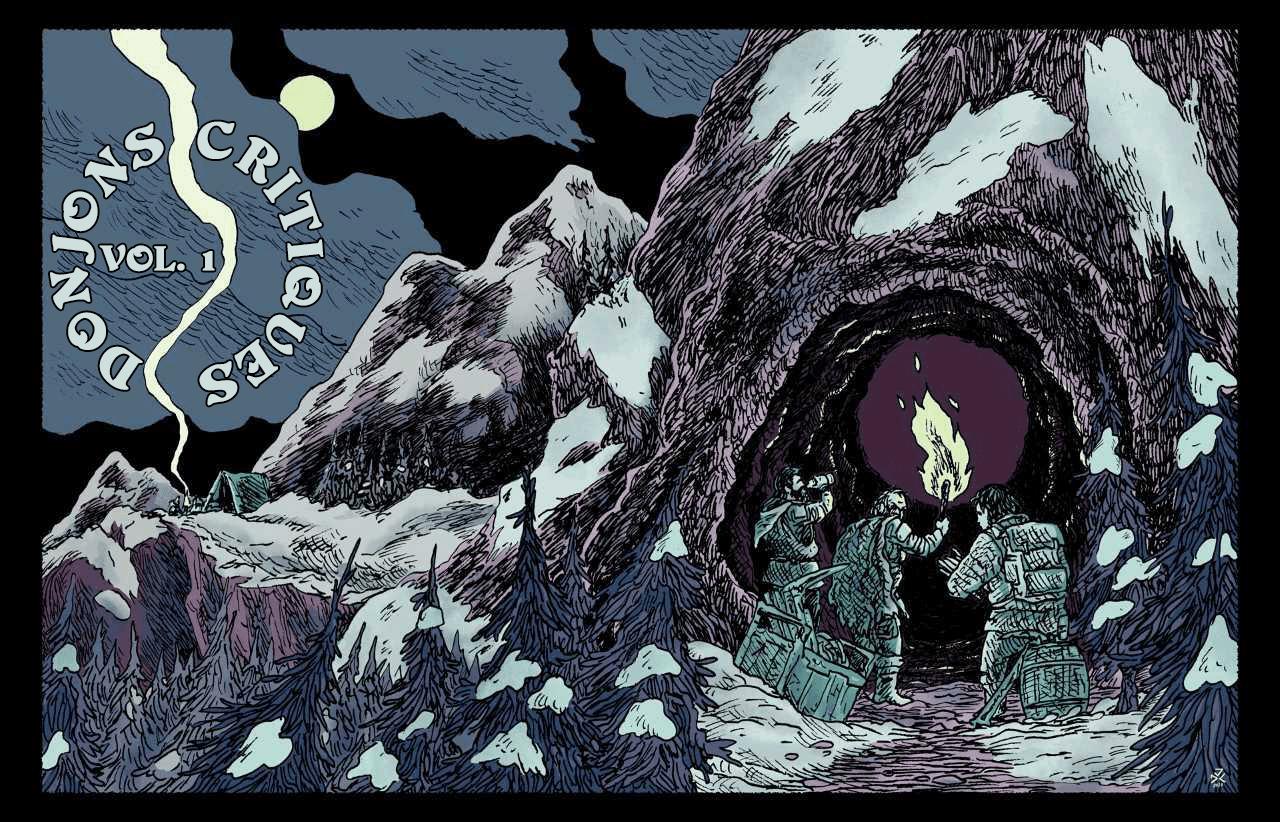 L'artiste Julien Dallaire Charest a fait le graphisme de Donjons Critiques.