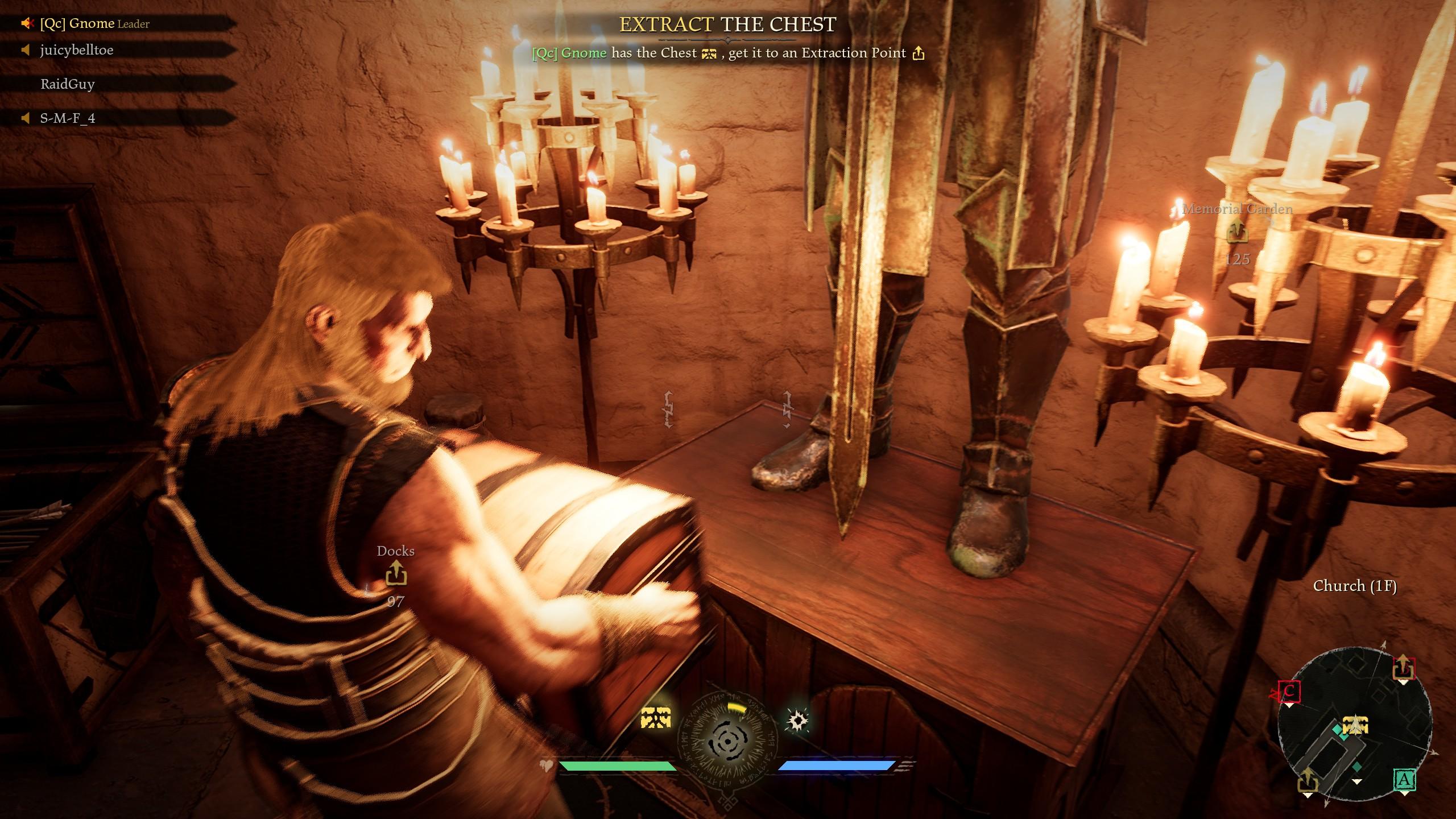 Les habiletés uniques des personnages ne se limitent aux combats. Par exemple, John est plus fort et transporte le butin plus rapidement.