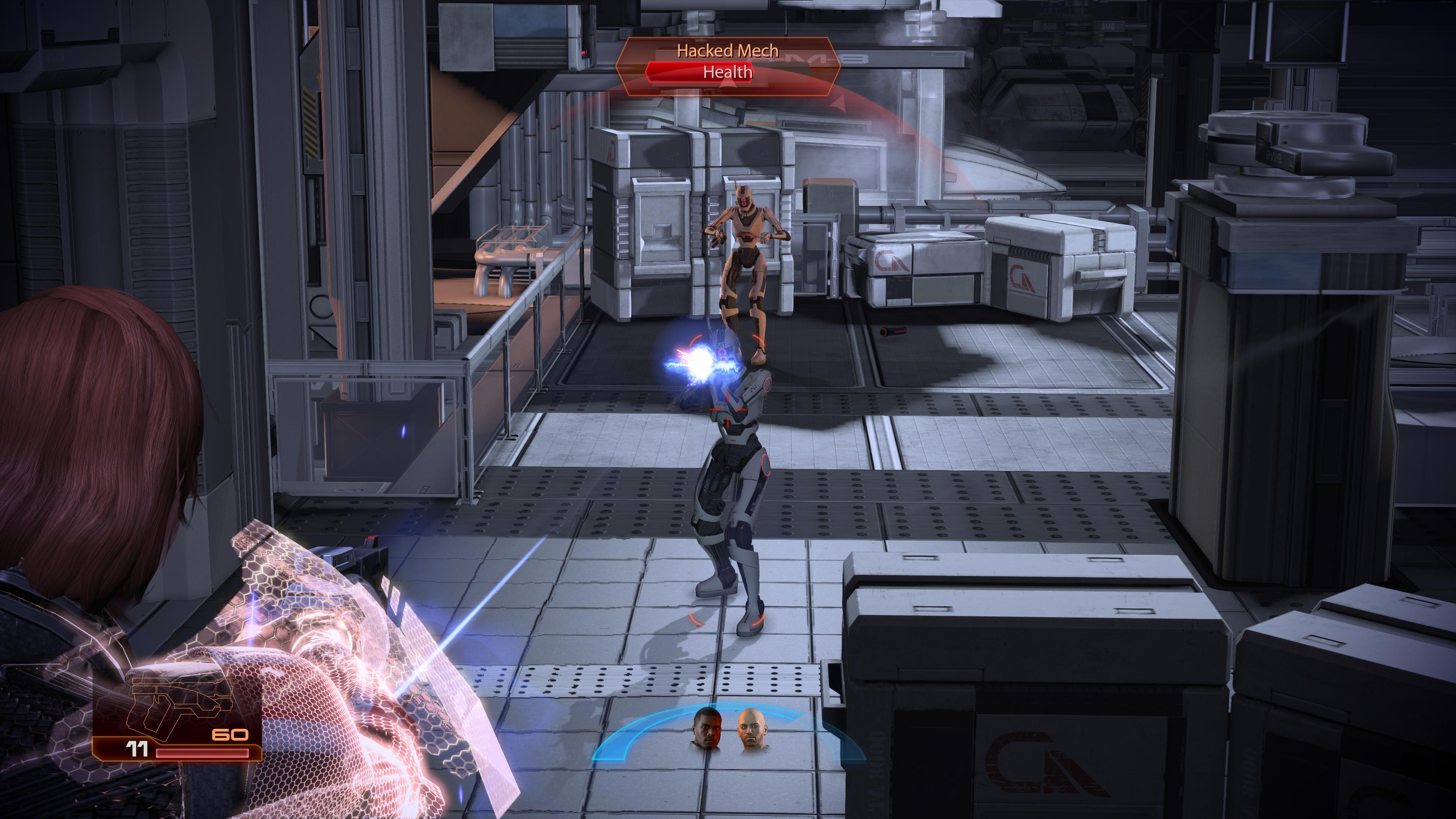 Mass Effect 2 avait déjà bénéficié de grandes améliorations à sa sortie originale, le travail de restauration y est donc plus subtile