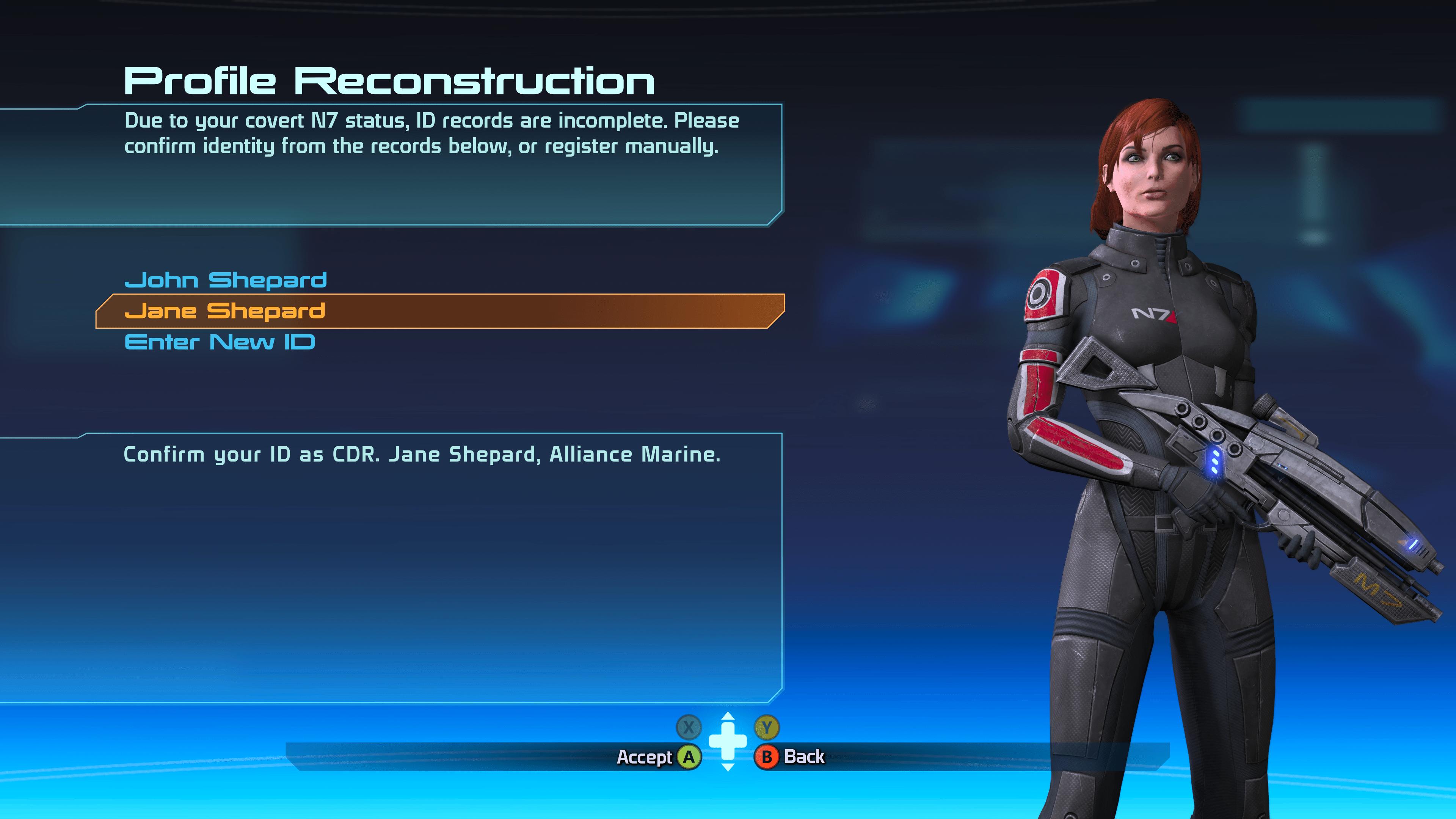 Mass Effect vous donne encore plus de choix cosmétiques pour vous forger un personnage à votre image