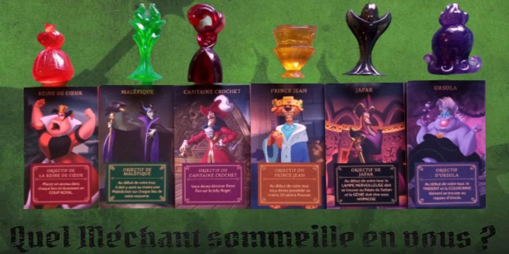 Disney Villainous, un jeu de cartes diaboliquement asymétrique