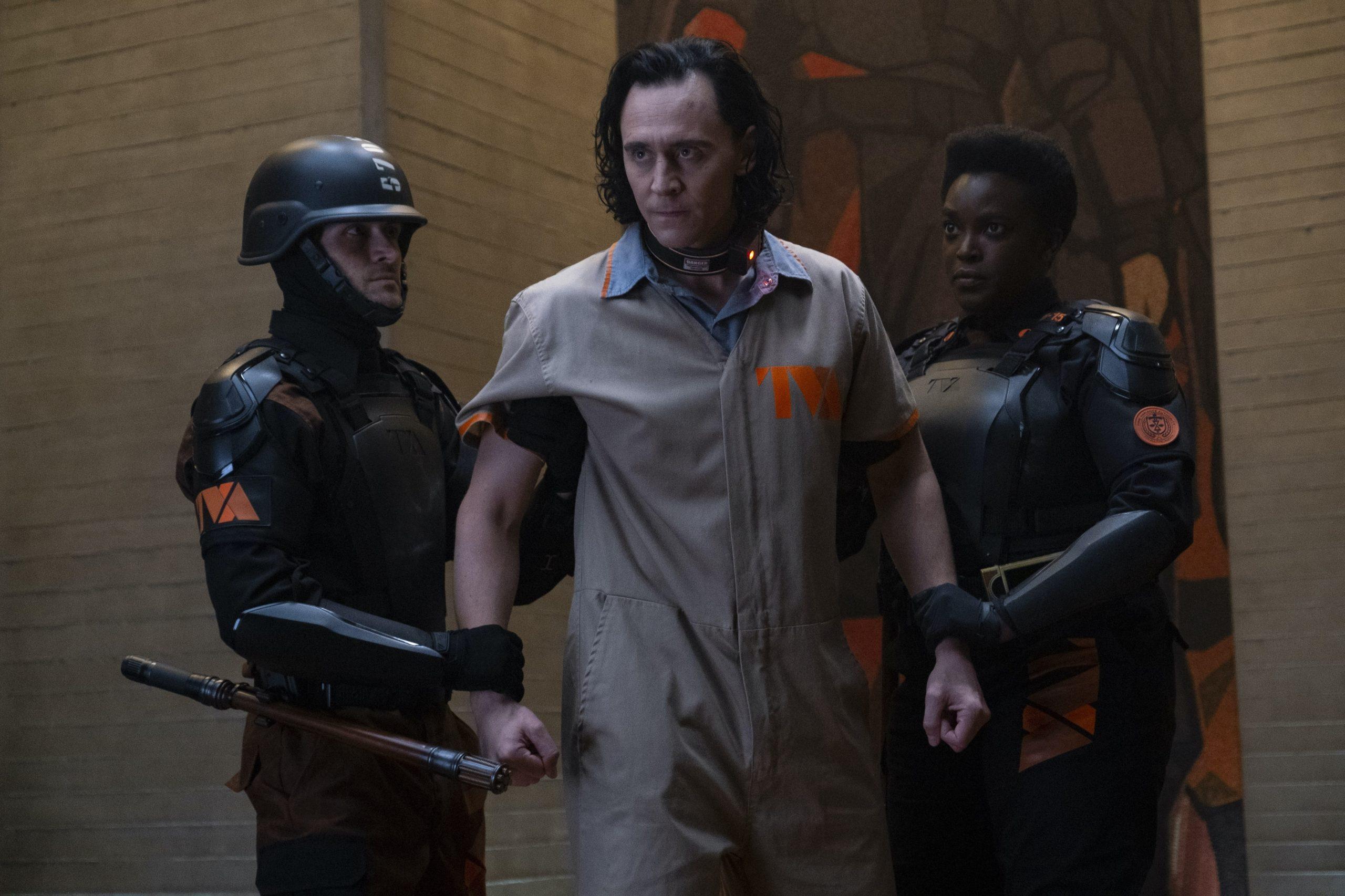 Loki prisonnier de la TVA