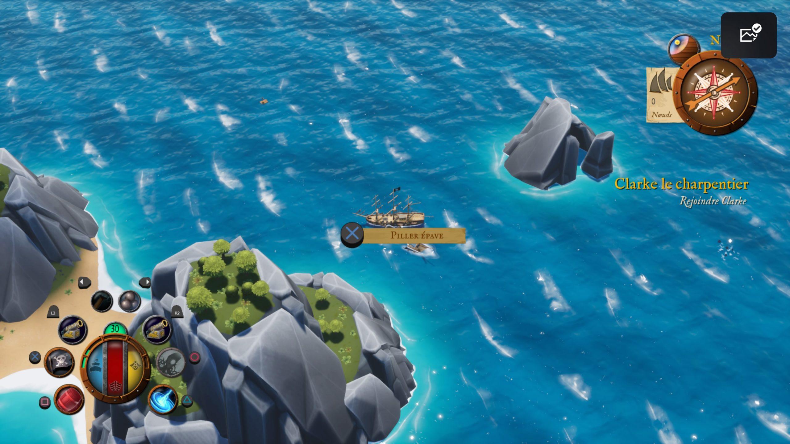 Pillage dans King of Seas