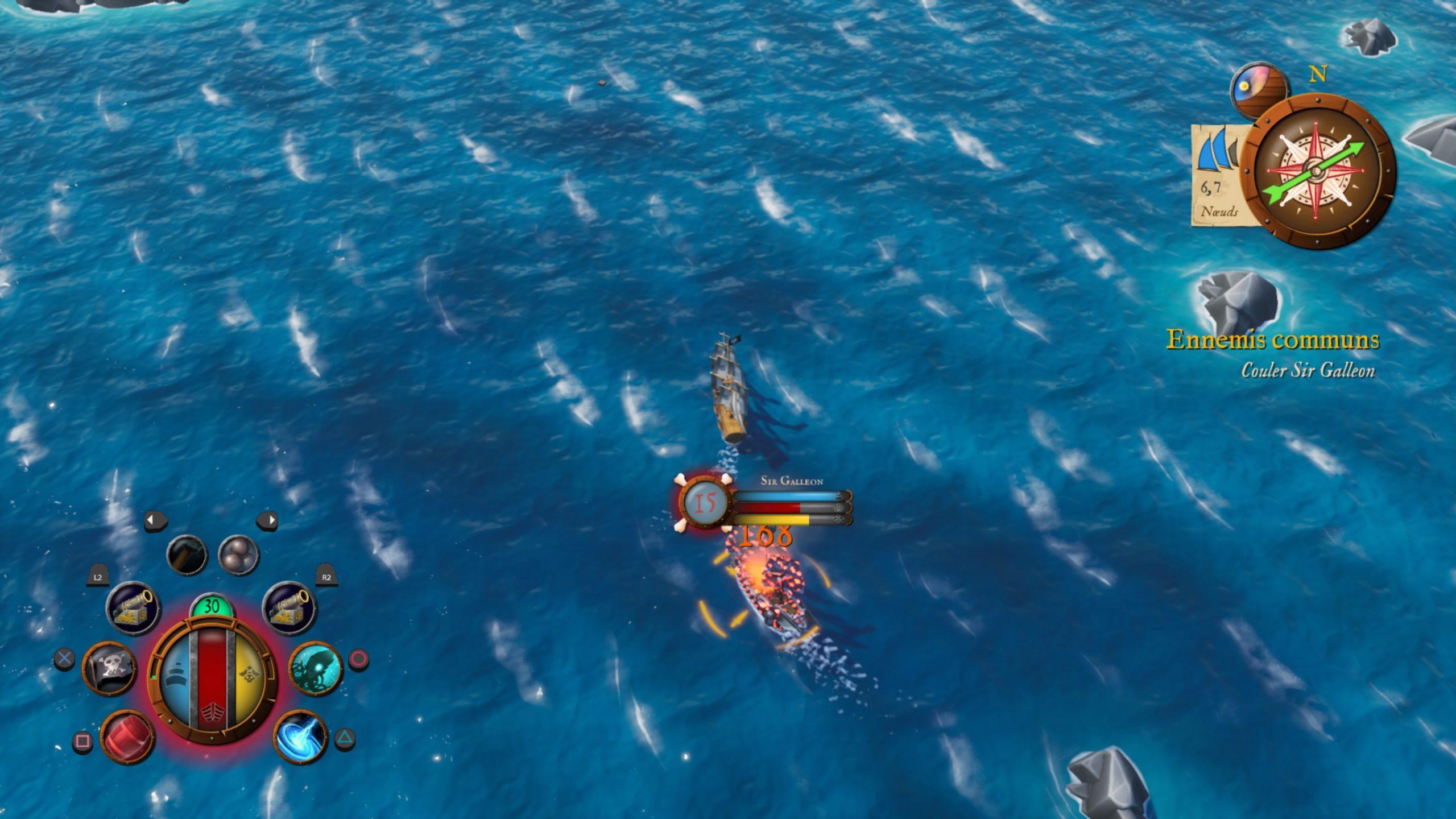 Combat dans King of Seas