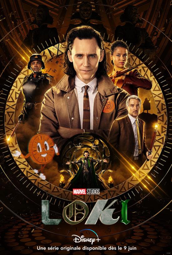Affiche complète Loki série