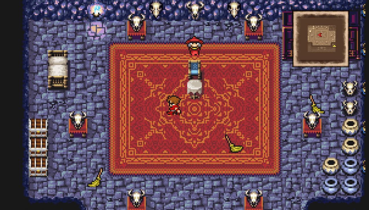 Final Fantasy Pixel Remaster permet une expérience visuelle plus similaire à celle vécue à l'époque.