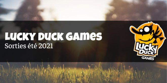 Tout un été pour Lucky Duck Games!